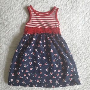 Dress with Stripes/Hearts